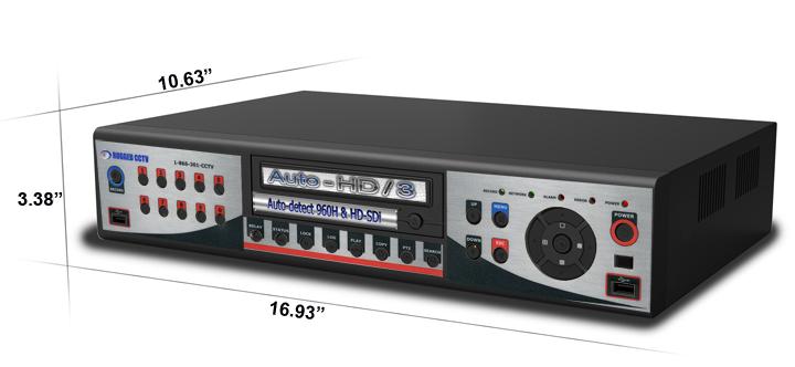 auto hd 3 dimensions large - HD-SDi / 960h DVR