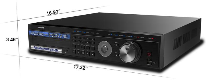 auto hd 6 dimensions large - HD-SDi / 960h DVR