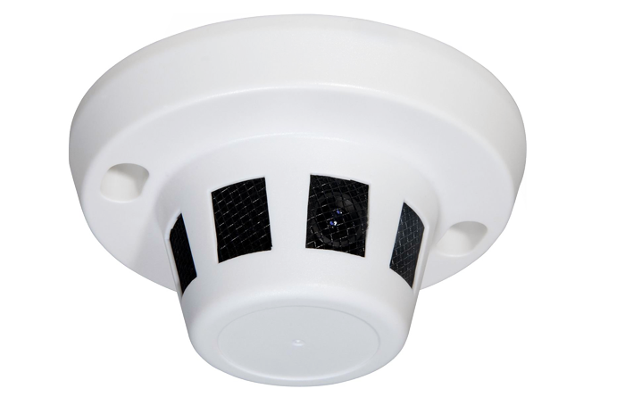 Smoke Detector Security Camera - Hidden Surveillance Camera