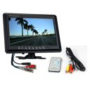 "9 inch 2 channel monitor 128x128 - 24"" LCD HDMI Monitors"
