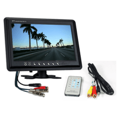 "9 inch 2 channel monitor 247x247 - 9"" LCD 2 channel CCTV Monitor"