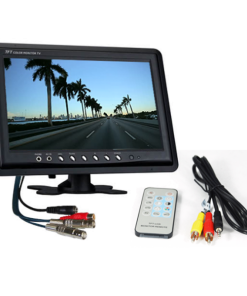 """9 inch 2 channel monitor 247x296 - 9"""" LCD 2 channel CCTV Monitor"""