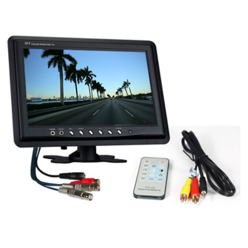 "9 inch 2 channel monitor 510x510 - 9"" LCD 2 channel CCTV Monitor"