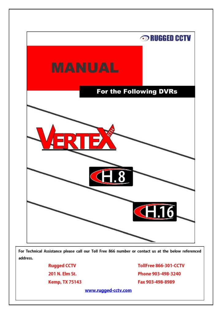 HandVerteXRTHManual pdf 724x1024 - Building the Rugged Cams N-Spex Systems for Car Washes, Parking Garages and other sites where you need to determine pre-existing or current damage to vehicles entering and leaving. This is a Patented product that we ship out every day.