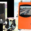 "TMLensOrange 128x128 - 3.5"" LCD Lens Selector"