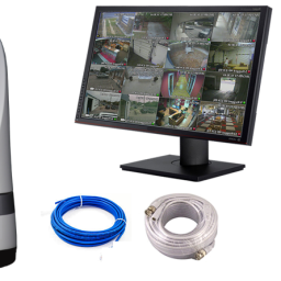 "hd megapixel ptz 22monitor package 256x256 - Ruff Ride HD PTZ Camera 22""Monitor package"