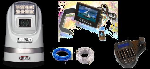 "ptz wp monitor package 510x236 - Ruff Ride PTZ Camera & 7"" Waterproof Monitor Package"
