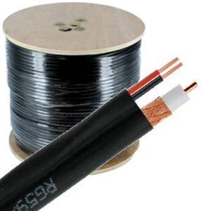 Siamese Coax Video/Power Cable