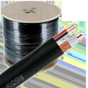 Siamese Coax Video/Power Cable