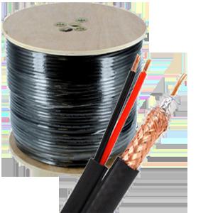 rg6 siamese lg - Siamese Coax RG6 Video/Power Cable