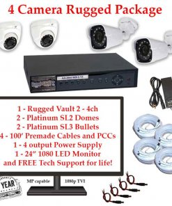 rugged package 4cam 247x296 - 4 Camera HD over Coax (TVI) Package