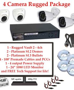 rugged package 4cam 247x300 - 4 Camera HD over Coax (TVI) Package
