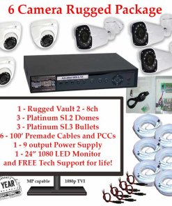 rugged package 6cam 247x296 - 6 Camera HD over Coax (TVI) Package