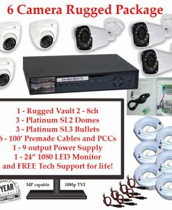 rugged package 6cam 247x300 - 6 Camera HD over Coax (TVI) Package
