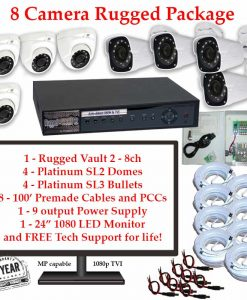rugged package 8cam 247x300 - 8 Camera HD over Coax (TVI) Package