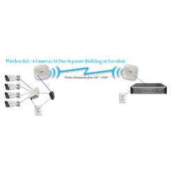 IMAGE: 4 Camera Wireless Kit