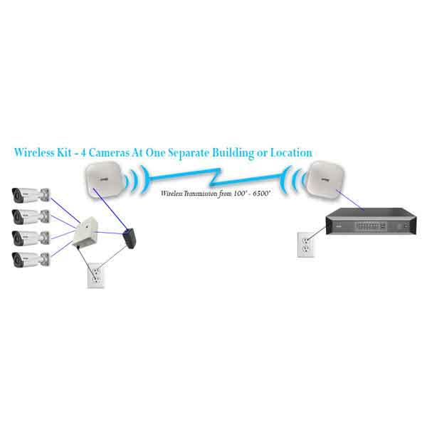 IMAGE: 4 Camera Wireless Kit