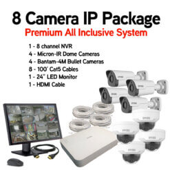 Complete Business security camera system
