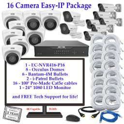 enviro package 16cam 256x256 - 16 Camera IP Package