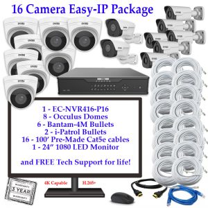 IP Camera System Packages