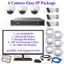 enviro package 6cam 128x128 - 4 Camera IP Camera System