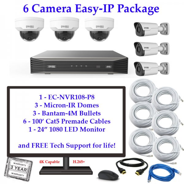 enviro package 6cam 600x600 - 6 Camera IP Package