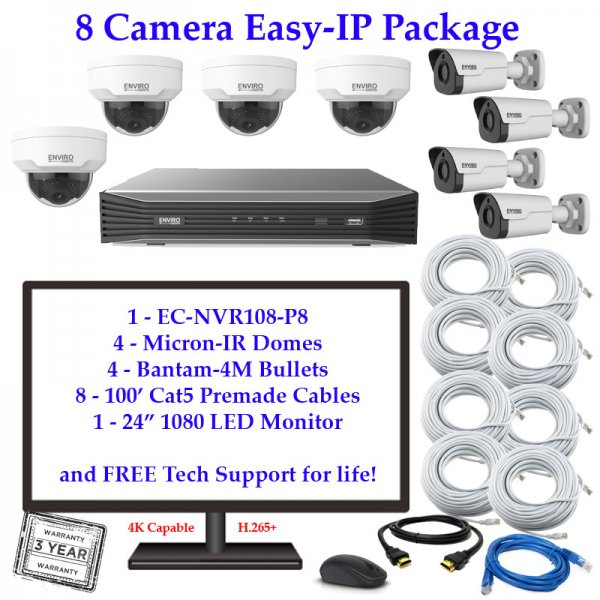 enviro package 8cam 600x600 - 8 Camera IP Package