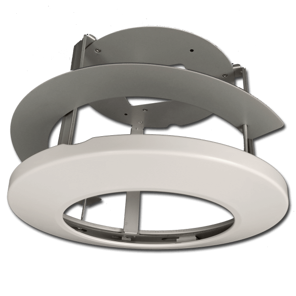indy 22recessed ceiling mount 600x600 - Indy-22 Indoor PTZ Dome Camera