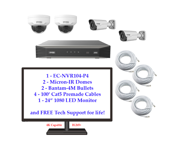 product im 1 - 4 Camera IP Package