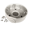 round wall mount 100x100 - Wall Mount / Junction Box for  the Occulus / Micron & Sentinel Dome Cameras