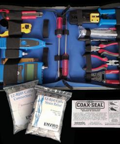 Large cat5 tool kit 247x296 - Large Professional Tool Kit Cat5e