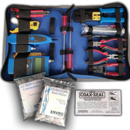 Large cat5 tool kit 256x256 - Large Professional Tool Kit Cat5e