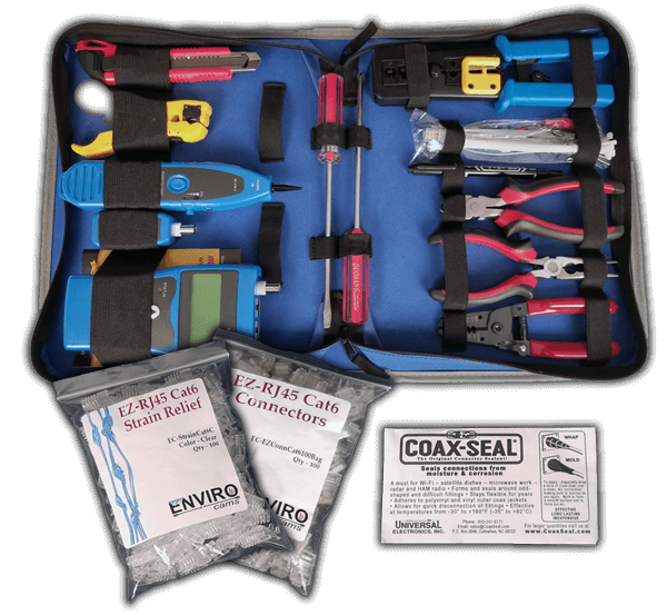 Large cat6 tool kit 600x553 - Large Professional Tool Kit Cat6