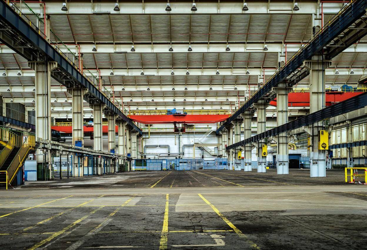 warehouse - Benefits of Security Cameras in Warehouses & Manufacturing Plants