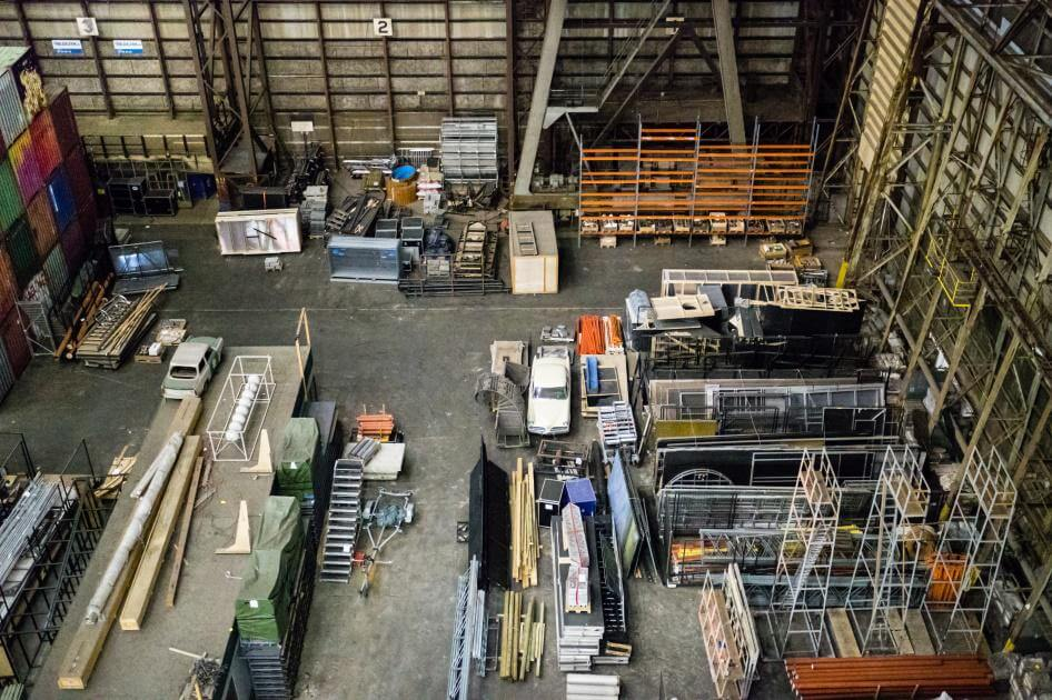 warehouseoverheadview - Benefits of Security Cameras in Warehouses & Manufacturing Plants