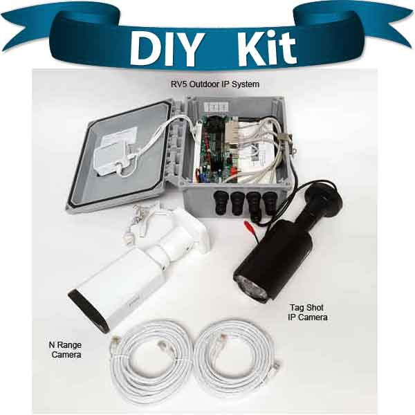 "diy kit egs 1 - <strong class=""red"">Dual Lane</strong> Entry or Gate System <strong class=""red"">2 Poles</strong>"