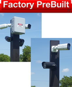 "dual lane 2 pole system 247x296 - <strong class=""red"">Dual Lane</strong> Entry or Gate System <strong class=""red"">2 Poles</strong>"