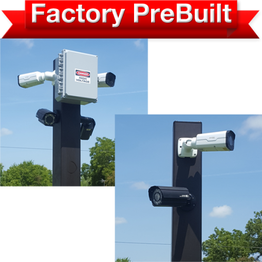 """dual lane 2 pole system 510x510 - <strong class=""""red"""">Dual Lane</strong> Entry or Gate System <strong class=""""red"""">2 Poles</strong>"""