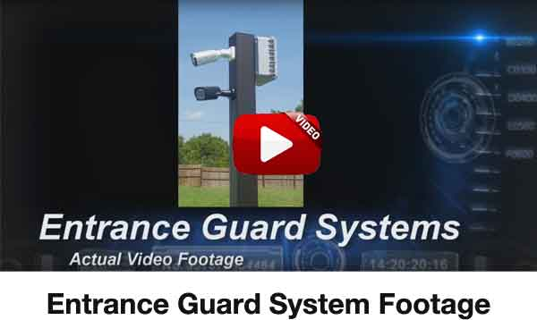 entrance guard system video image - <strong>Dual Lane</strong><br>Entry or Gate System