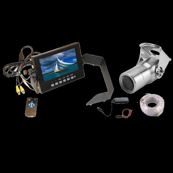 single camera waterproof package 600x278 600x600 - 2 Channel Waterproof Monitor Single Camera Package