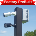 """single lane factory prebuilt 128x128 - <strong class=""""red"""">Single Lane</strong> Entry or Gate System Prebuilt"""
