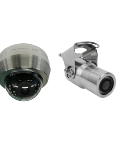 Stainless Steel Analog 960H Cameras
