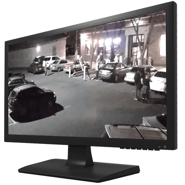 "cctv monitor front view - 10.1"" HD Wall Mount Monitor"