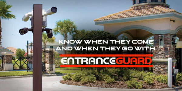gated entrance traffic monitoring system