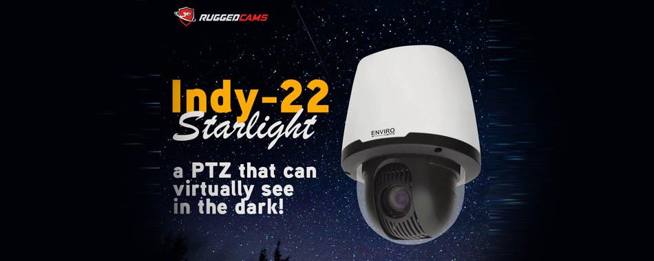 Low Light PTZ Security Camera