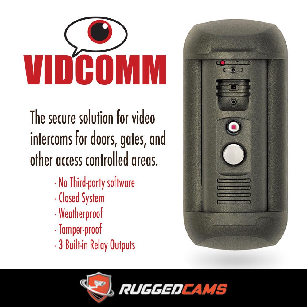 Video doorbell for business